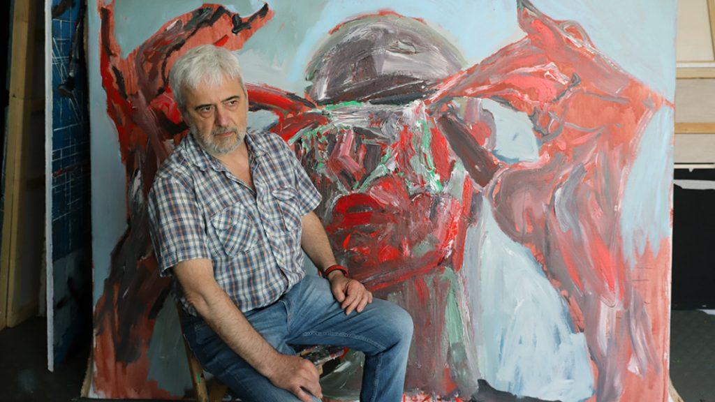 """Динко Стоев, изложбата """"Survivor"""""""