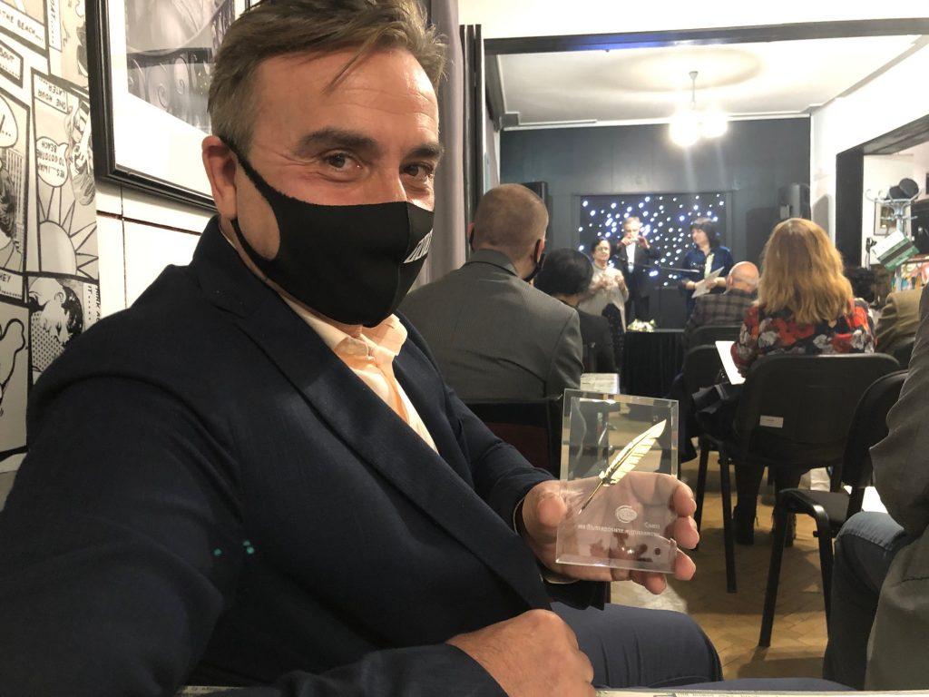 Румен Ковачев и наградата Златно перо