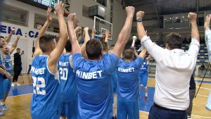 Национална Баскетболна Лига, заснета от ТВ1 29 май
