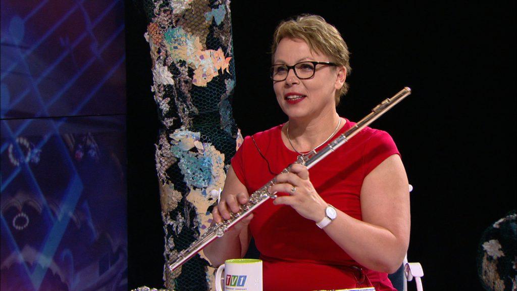 Флейтистката Мария Митева в Анфас-10.07.2021